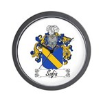 Sofia Famly Crest Wall Clock