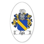 Sofia Famly Crest Oval Sticker