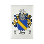 Sofia Famly Crest Rectangle Magnet (10 pack)