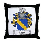 Sofia Famly Crest Throw Pillow