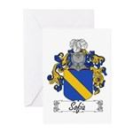 Sofia Famly Crest Greeting Cards (Pk of 10)