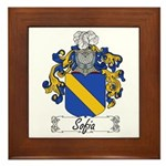 Sofia Famly Crest Framed Tile