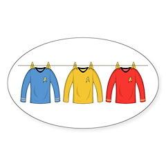 Trek Laundry - Shirts Decal