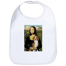 Mona and her Beagle Bib