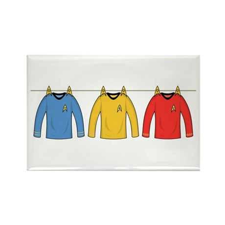 Trek Laundry - Shirts Rectangle Magnet