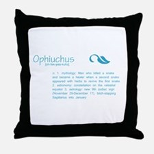 Ophiuchus Definition Throw Pillow