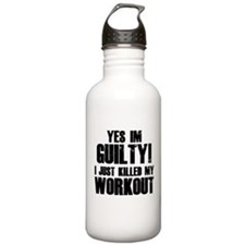 Killed My Workout Water Bottle
