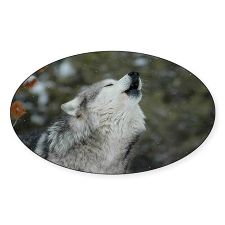 Call Of The Wild Sticker (Oval)