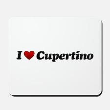 I Love Cupertino Mousepad