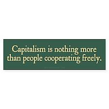 Capitalist Cooperation Bumper Sticker