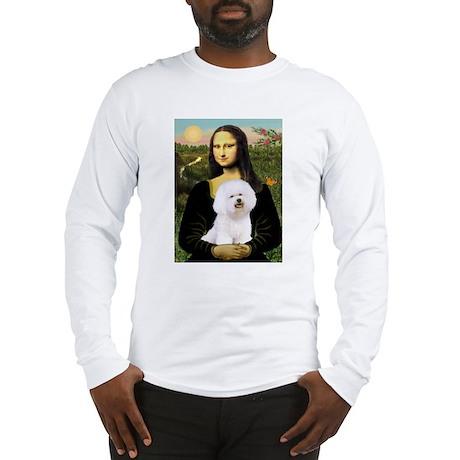 Mona and her Bichon Long Sleeve T-Shirt