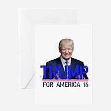 donald trump Greeting Cards