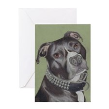 Funny Pibbles Greeting Card