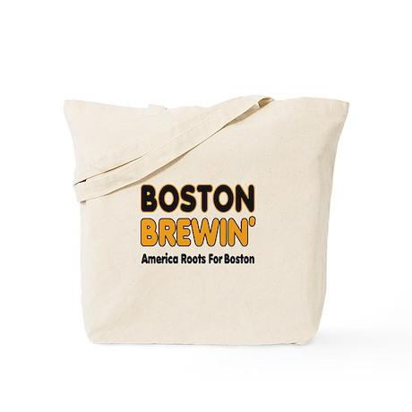 Boston Brewin' Tote Bag