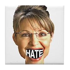 Hate Speech Tile Coaster