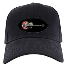 Tie Dye Guitar Baseball Hat