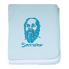 Socrates baby blanket