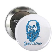 "Socrates 2.25"" Button"