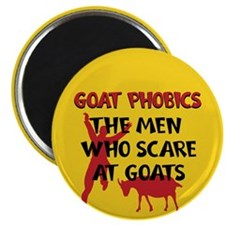 Goat Phobics Magnet