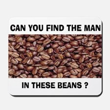 WHERE IS HE? Mousepad