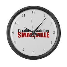 Smallville Fan Large Wall Clock