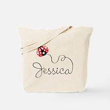 Ladybug Jessica Tote Bag