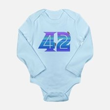 The Answer Long Sleeve Infant Bodysuit