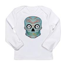 Tattoo Skull Long Sleeve Infant T-Shirt