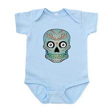 Tattoo Skull Infant Bodysuit