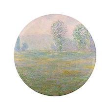 """Unique Claude monet 3.5"""" Button (100 pack)"""