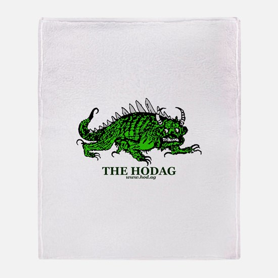 Rhinelander Hodag Throw Blanket