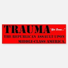 Trauma America Sticker (Bumper)