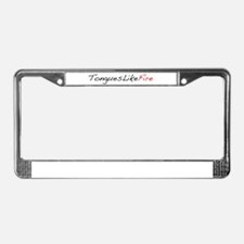 Classic logo License Plate Frame