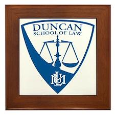Duncan School of Law Framed Tile