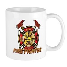 Maltese Cross - Fire Fighter Mug