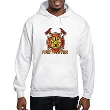 Maltese Cross - Fire Fighter Hoodie Sweatshirt