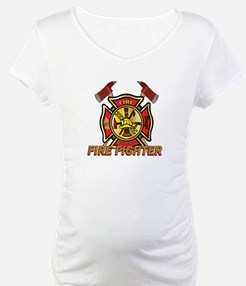 Maltese Cross - Fire Fighter Shirt
