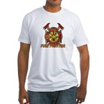 Maltese Cross - Fire Fighter Fitted T-Shirt