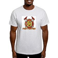 Maltese Cross - Fire Fighter T-Shirt