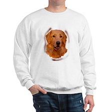 Golden Portrait Two Sweatshirt
