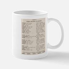 Business Speak Lesson 1 Mug