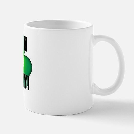 DAMN LUCKY! GOLF Mug