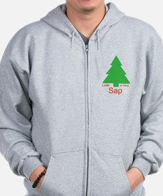 Lotta Sap in Here Zip Hoodie