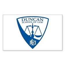 Duncan School of Law Decal
