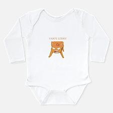 Unique Orange cat Long Sleeve Infant Bodysuit