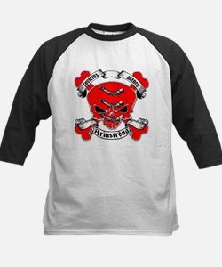 Armstrong Family Crest Skull Tee