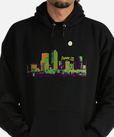 Denver, Colorado Skyline Hoodie