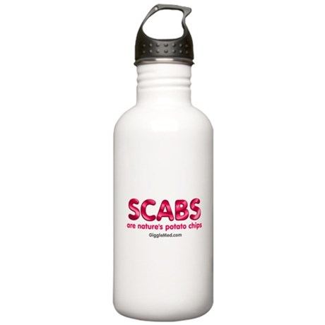 Scab Potato Chips Stainless Water Bottle 1.0L