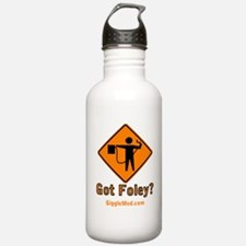 Foley Flagger Sign Water Bottle