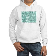 Cat in Tall Grass Hoodie